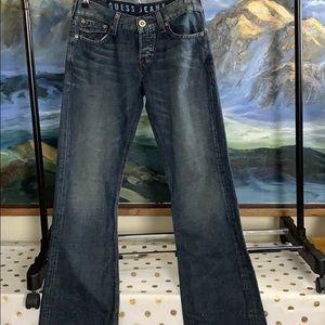 Men's guess jeans falcon boot cut size 30 30